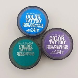 Maybelline Color Tattoo Pure Pigment Eyeshadow